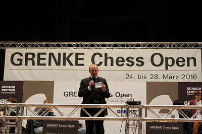 Turnierleiter Sven Noppes